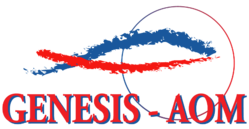 Genesis- AOM's logo