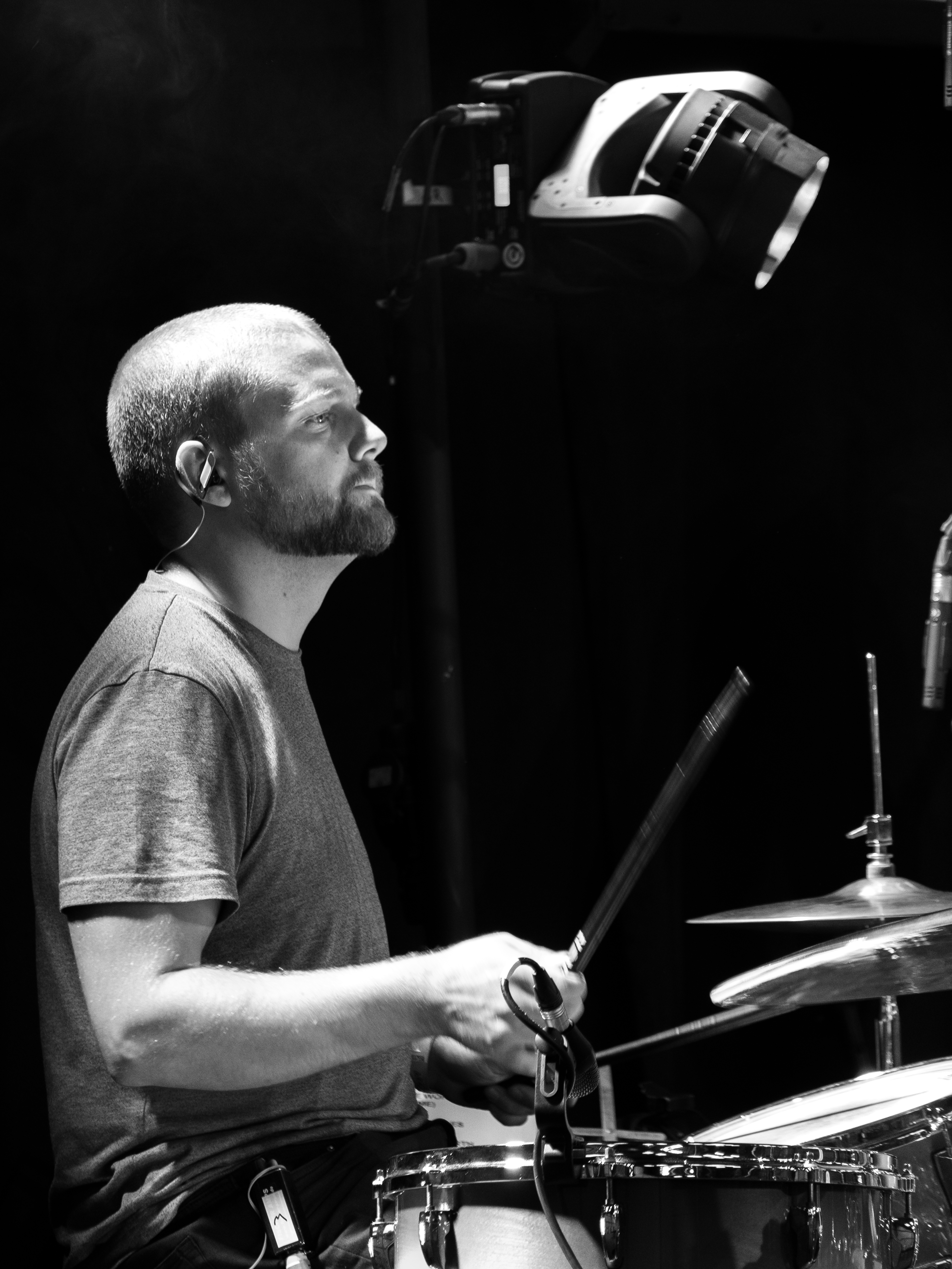 Drummer B_W-6486-1801
